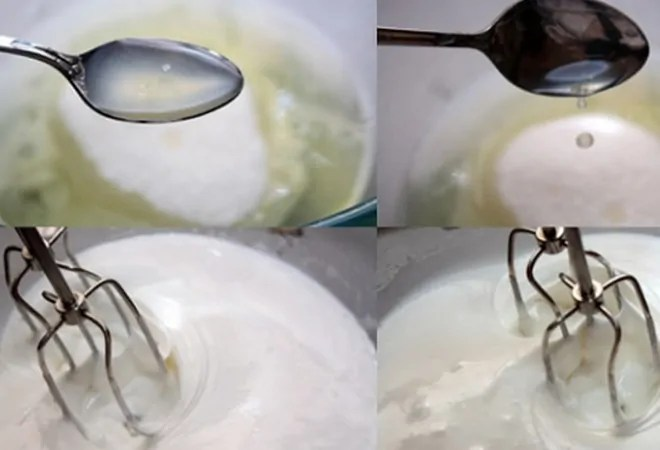 Preparation of protein cream