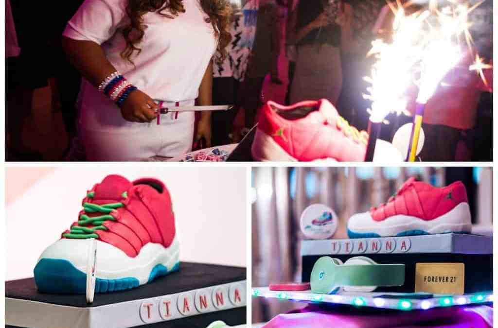 Tianna's Super Sweet 16 Cake