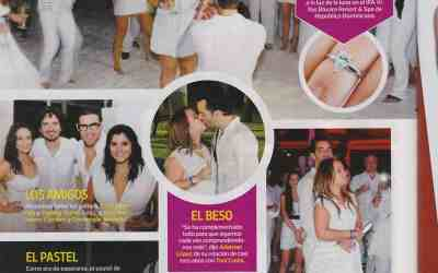 Hope Appears in People Magazine Espanol with Louis Vuitton Purse Cake