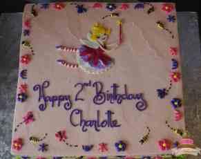 (498) Fairy Themed Cake