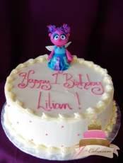 (442) Abby Cadabby Birthday cake
