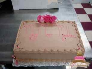 (2013) Simple Bat Mitzvah Cake