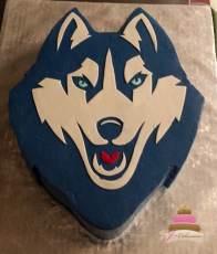 (724) Husky Groom's Cake