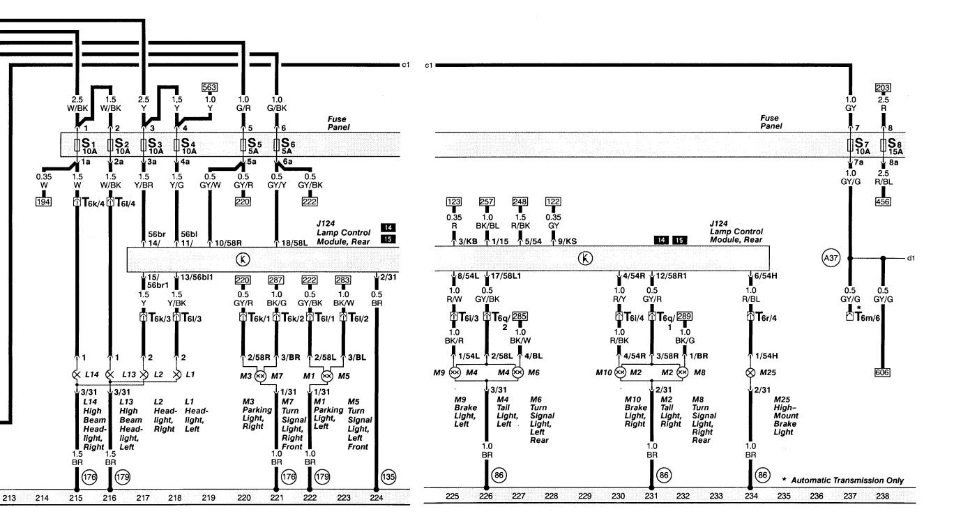 LampModS4 1?resize\=840%2C467 audi a6 wiring diagram periodic diagrams science on audi a6 c5 audi a6 c5 wireing diagram at readyjetset.co