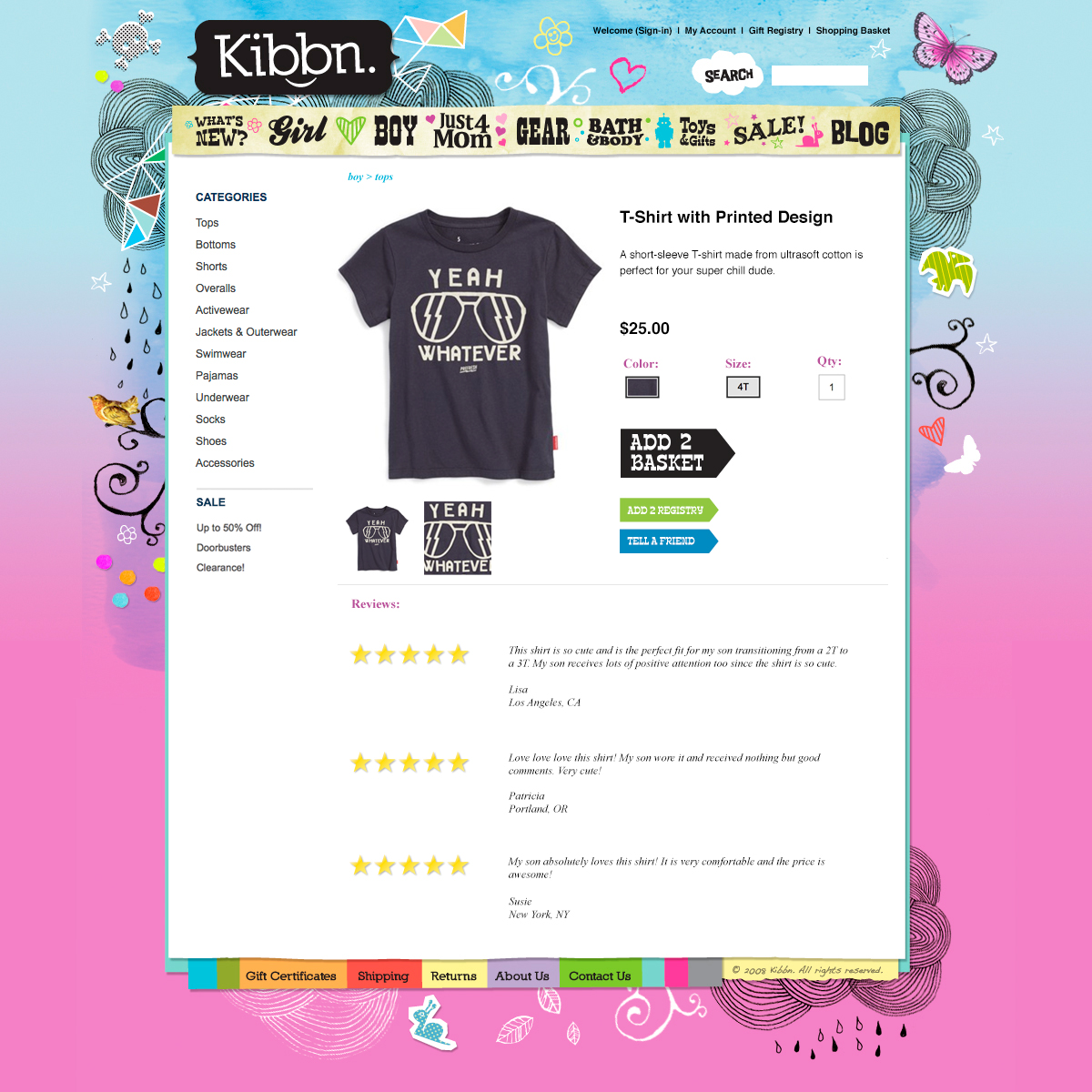 Kibbn website