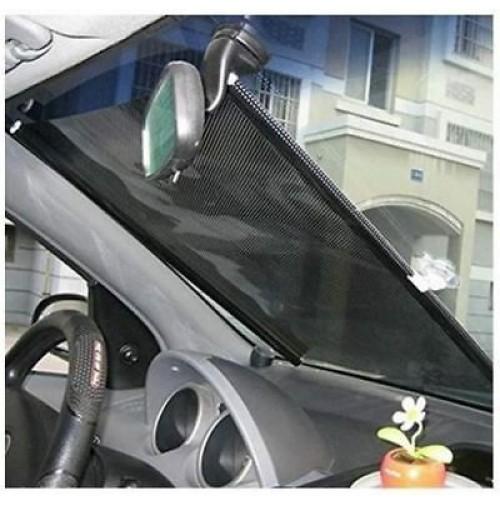 Di conseguenza, le finestre sono perfettamente ombreggiate. Tendina Parasole Avvolgibile Per Auto Con Ventose 40 X 60 Cm Para Sole