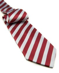 Red and White Tie in Red/White