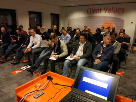 The audience after 90 minutes of PowerShell and Security