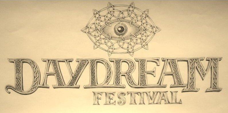 Creatief design voor het logo van Daydream festival. Handgemaakte logo's voor de film of muziek industrie gemaakt door ontwerper Jaap Roos.
