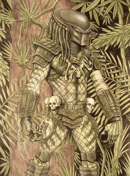 Movie kunst van de film Predator
