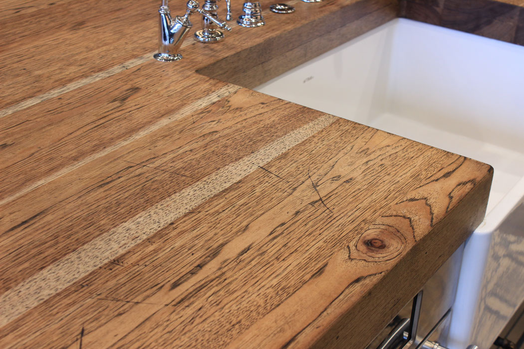 Distressed Wood Countertops J Aaron