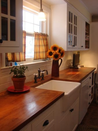 Wood Countertops With Sinks And Wet Areas | J. Aaron on Farmhouse Countertops  id=70696
