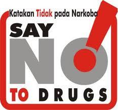 tidak pada narkoba