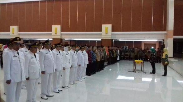 Ngacu Surat ASN, Neneng Lantik 749 Pejabat