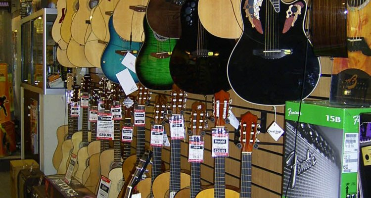 picking your guitar