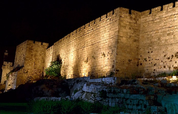 walls of the old city by David Shaw