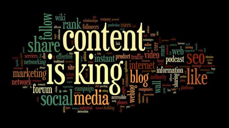 المحتوى هو الملك