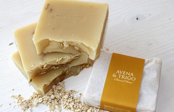 Jabón de Avena y trigo Campo di fiore