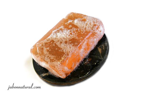 Jabón de miel y almendras - jabonnatural.com