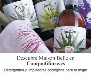 Limpiadores ecológicos de Maison Belle en campodifiore.es