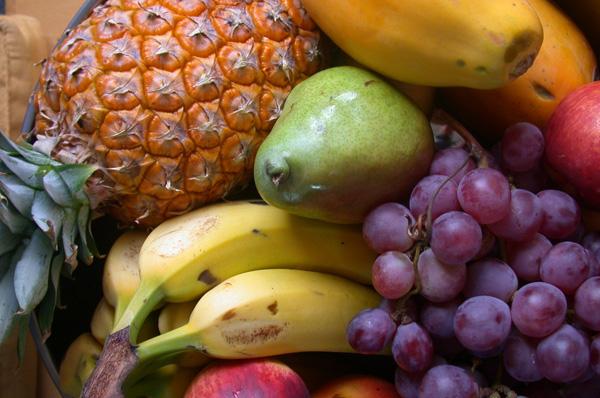 Añadir frutas al jabón