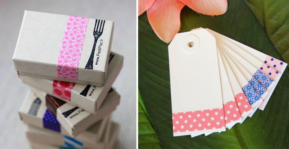 Ideas de decoración con Washi tapes