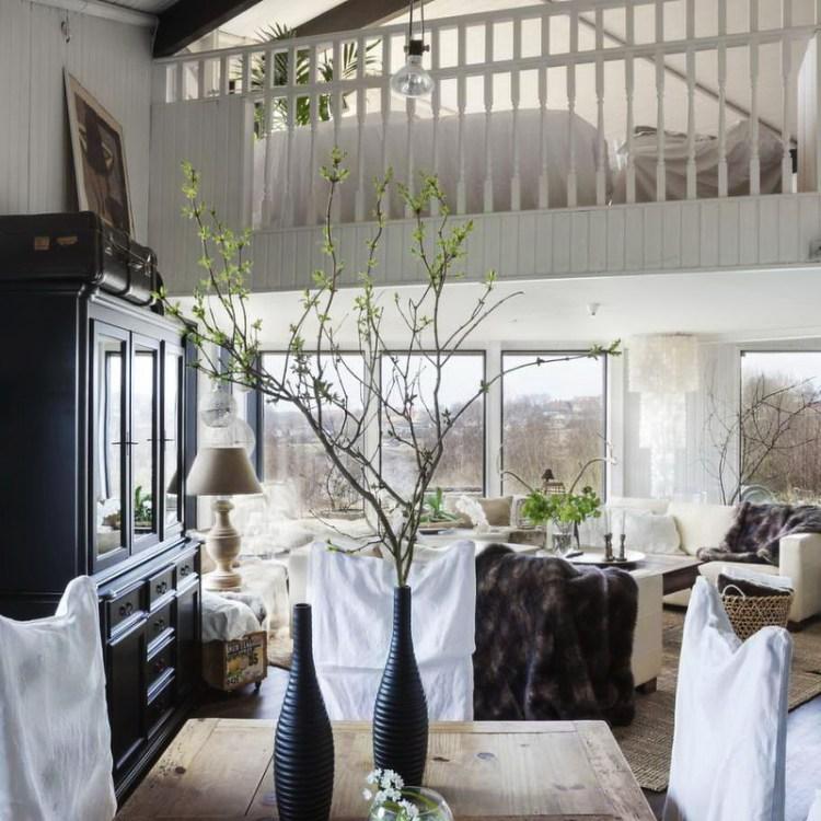 Una casa en Suecia - comedor