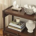 Decorar con libros: Usando libros como elementos decorativos (II)