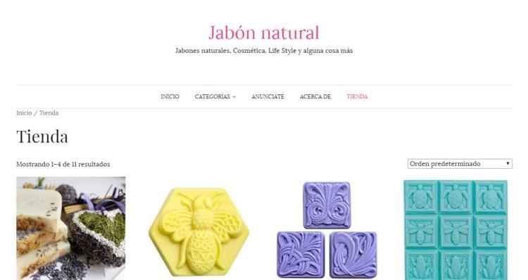 Tienda online de jabonnatural.com