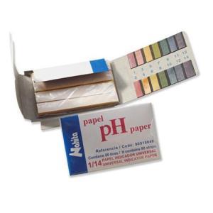 Tiras de papel indicador de pH