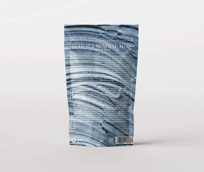 Barro mineral del Mar Muerto 1 kilo