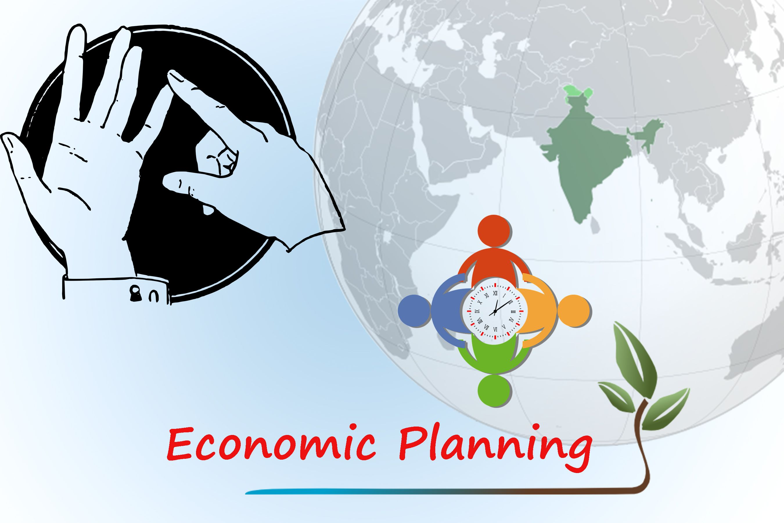 Economic Planning in India, Economics, Economic Planning in India Started After the Independence in 1947, History of Economic Planning in India, Importance of Economic Planning in India, Characteristics of Economic Planning in India, Objectives of Economic Planning in India, Latest News on Economic Planning in India, Types of Economic Planning in India, Five Year Economic Planning in India, Steps Involved in Economic Planning in India, mixed economy, Economic Planning models