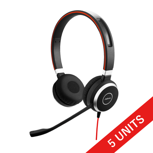 Jabra Evolve 40 Stereo headset 0001 1440x1440 0001 4 (5 UNITS)