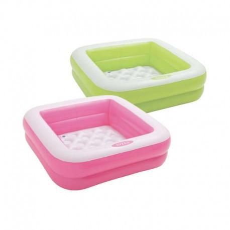 piscine gonflable pour bebe intex givree 85x85x23cm