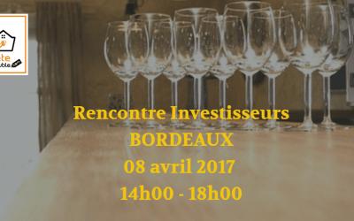 Rencontre Privée «Investisseur immobilier» sur Bordeaux