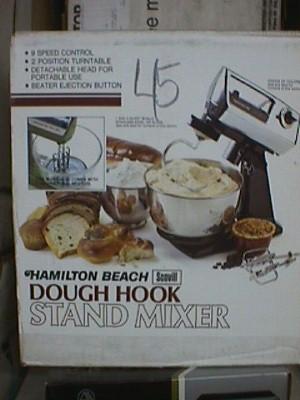 Hamilton Beach Dough Hook Stand Mixer Jack Berg Sales