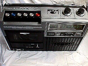 Jvc Am Fm Radio Cassette Recorder
