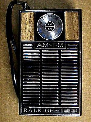 Raleigh 10 Transistor AM FM Radio Jack Berg Sales
