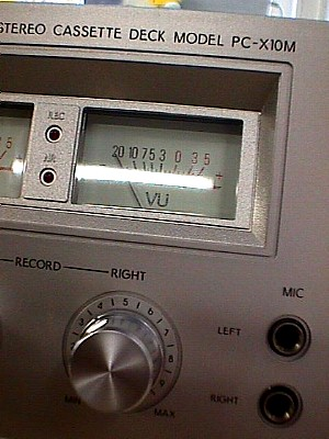 Toshiba PC X10M Cassette Playback And Recording Deck Jack