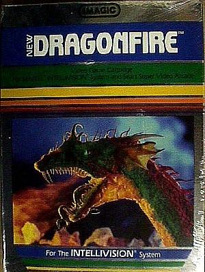 Imagic Dragonfire For Intellivision Jack Berg Sales