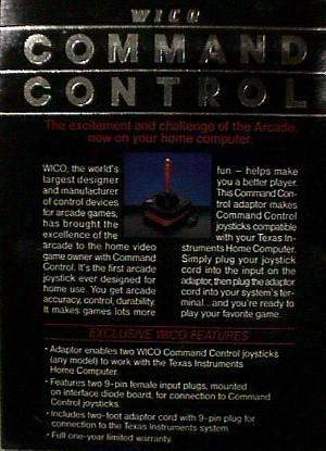 WICO Command Control Texas Instruments Joystick Adapter