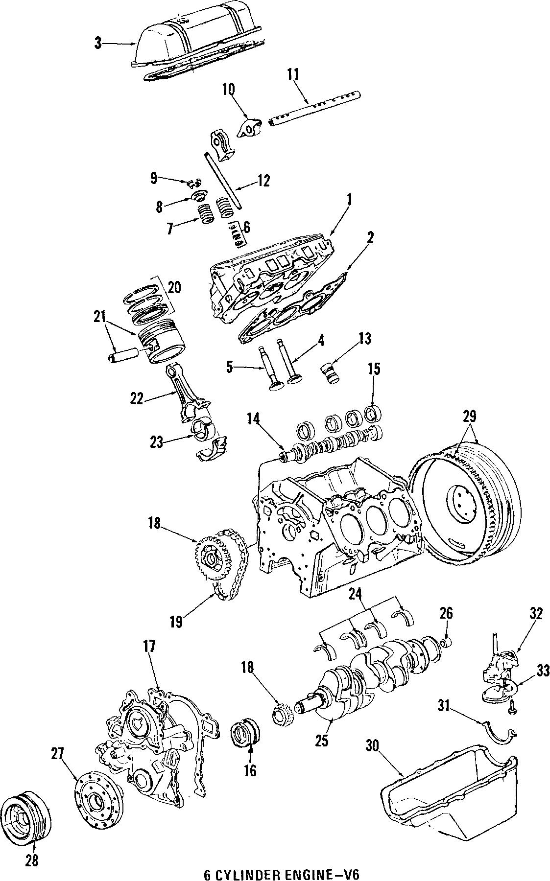 Pontiac Firebird Engine Crankshaft Pulley Series