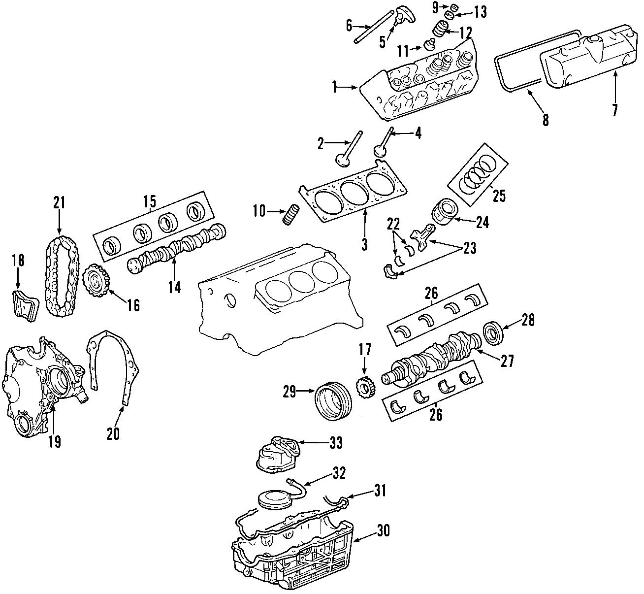 Chevrolet Monte Carlo Automatic Transmission Mount