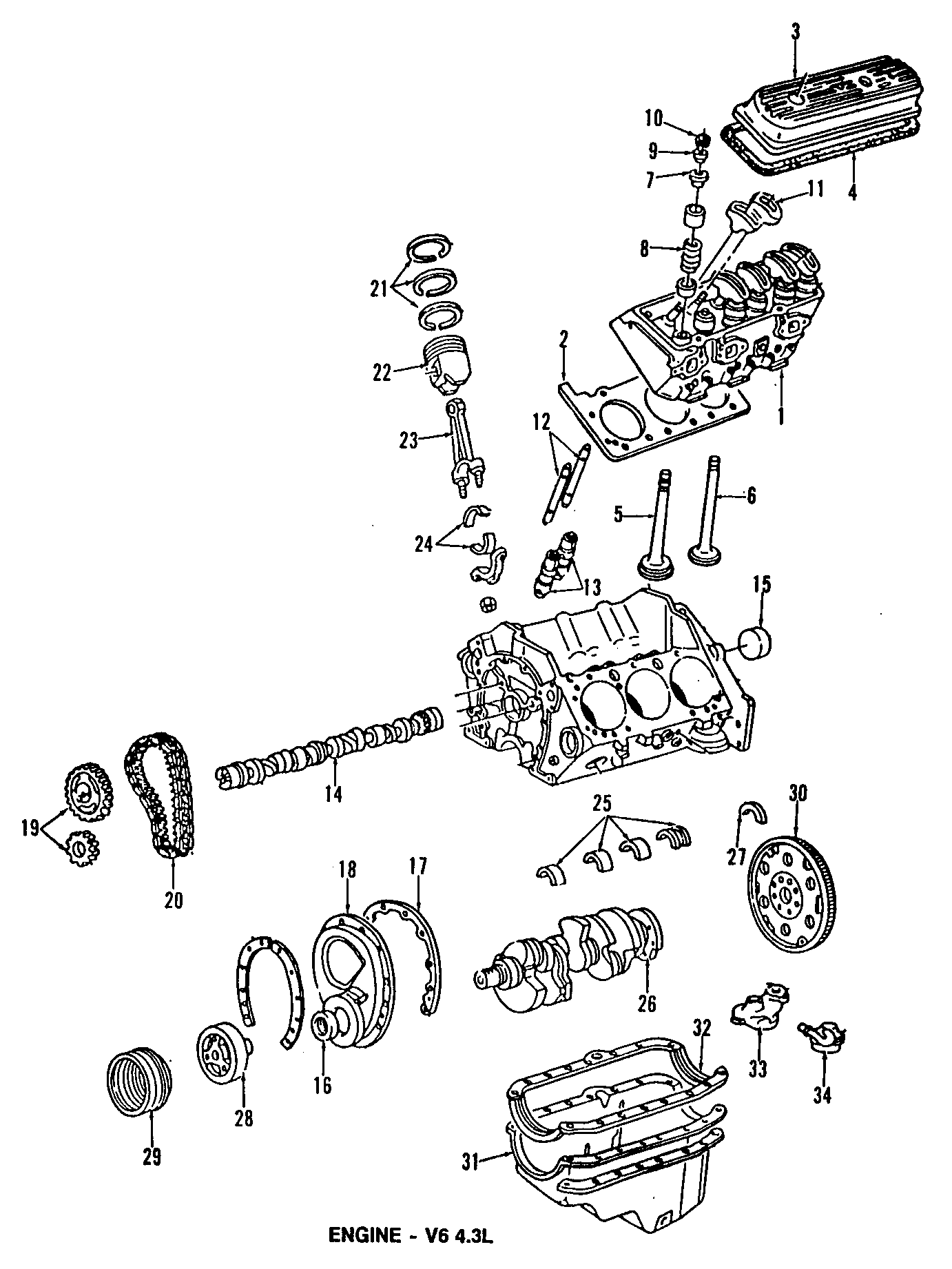 Gmc K Engine Piston