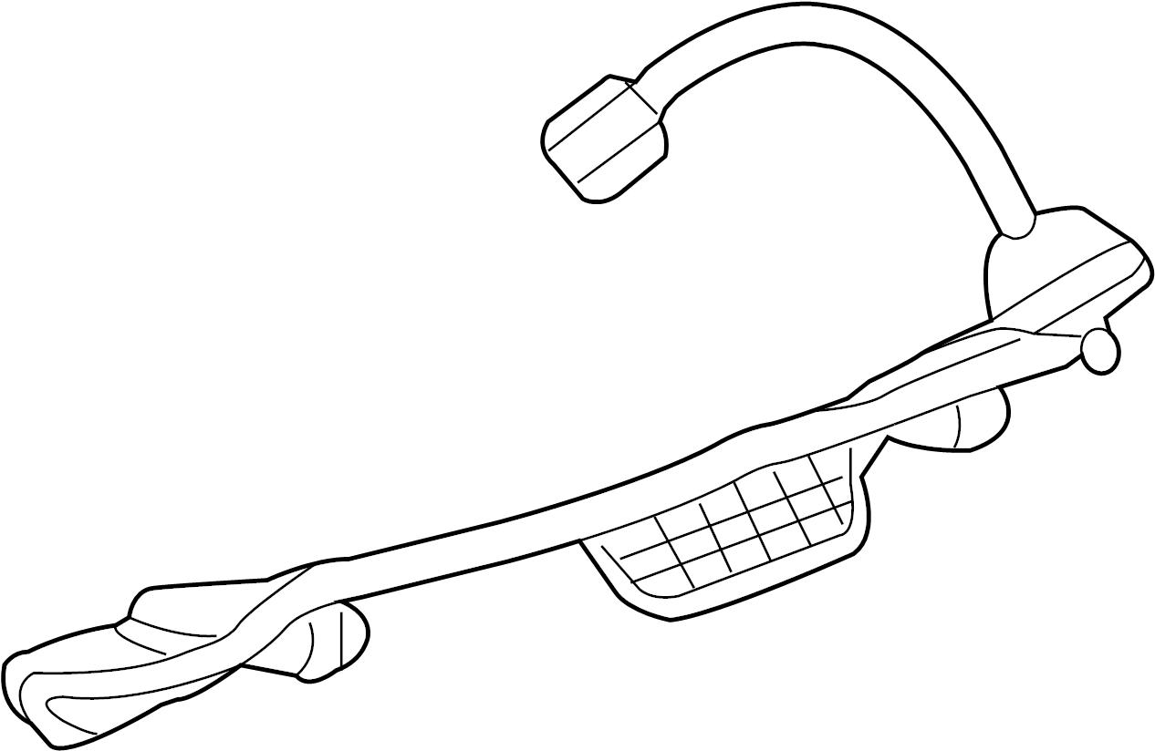 Cadillac Srx Tail Light Harness Rear