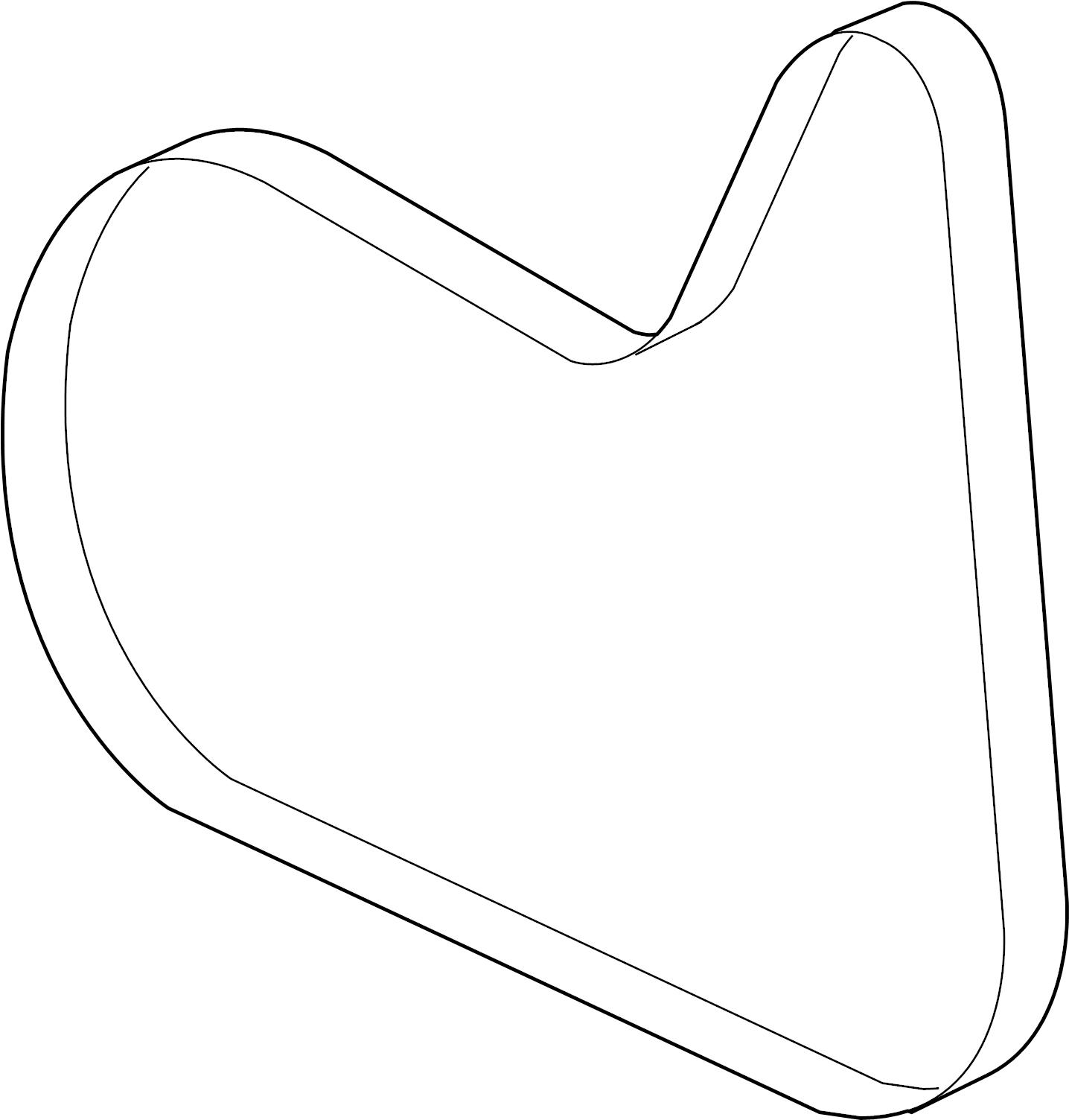 Pontiac Solstice Serpentine Belt