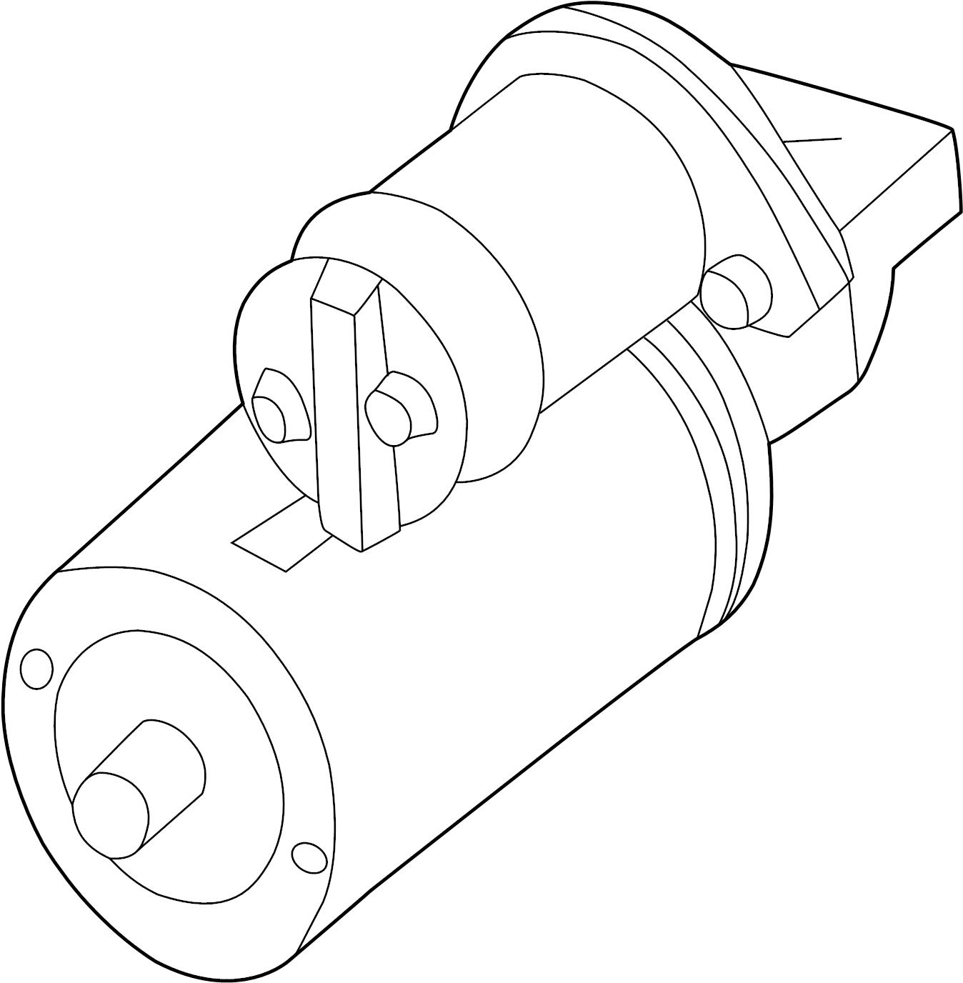 Chevrolet S10 Starter Motor
