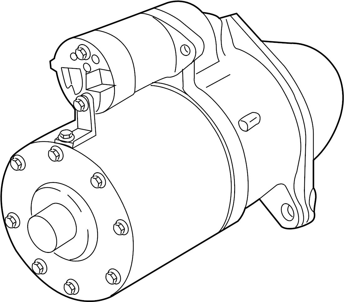 Pontiac G8 Starter Solenoid 3 6 Liter 6 0 Amp 6 2 Liter 6