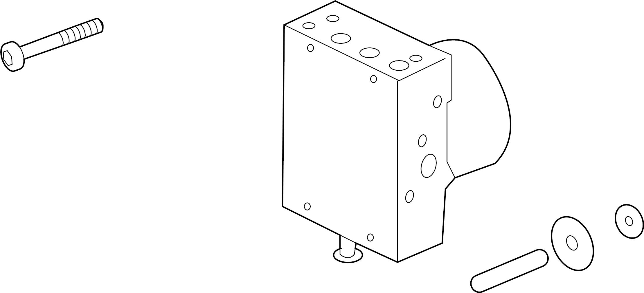 Pontiac G8 Abs Hydraulic Assembly Control Light Repair