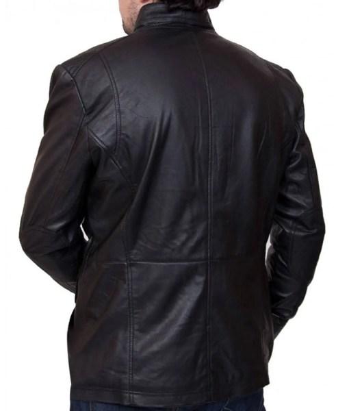 mens-biker-black-leather-4-pocket-jacket